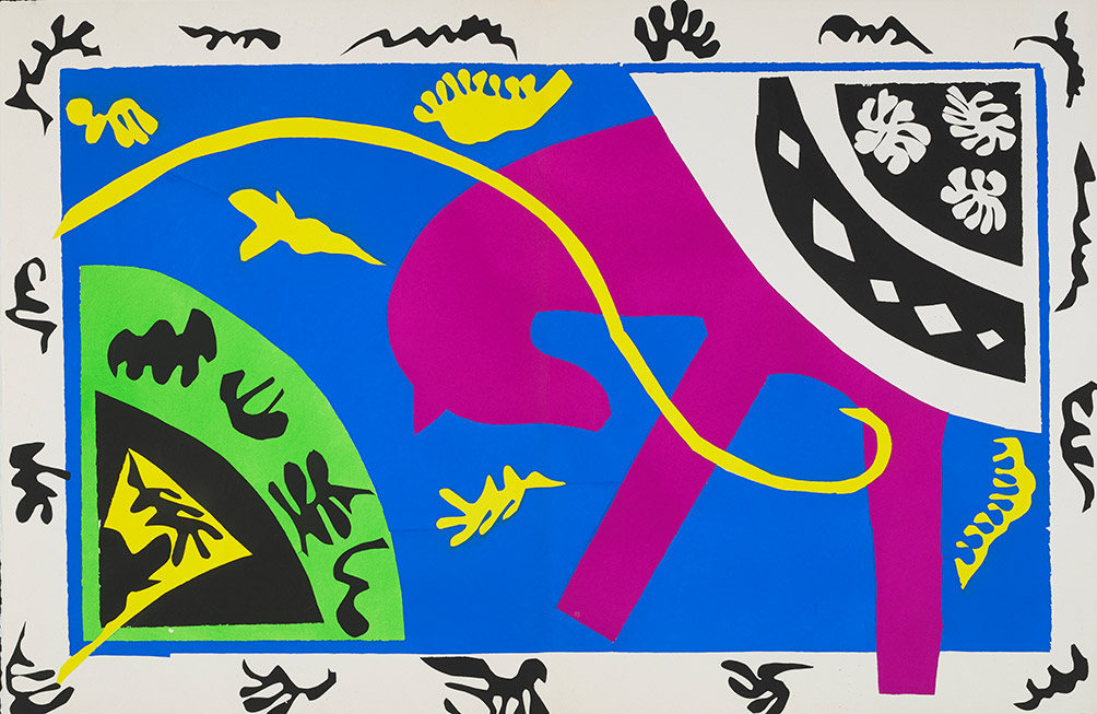 Matisse's vibrant 'Jazz' cut-outs and other images now available