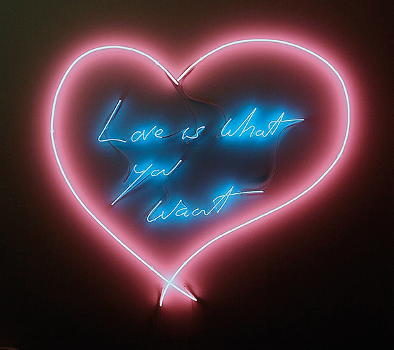Love Is What You Want 2011 Tracey Emin