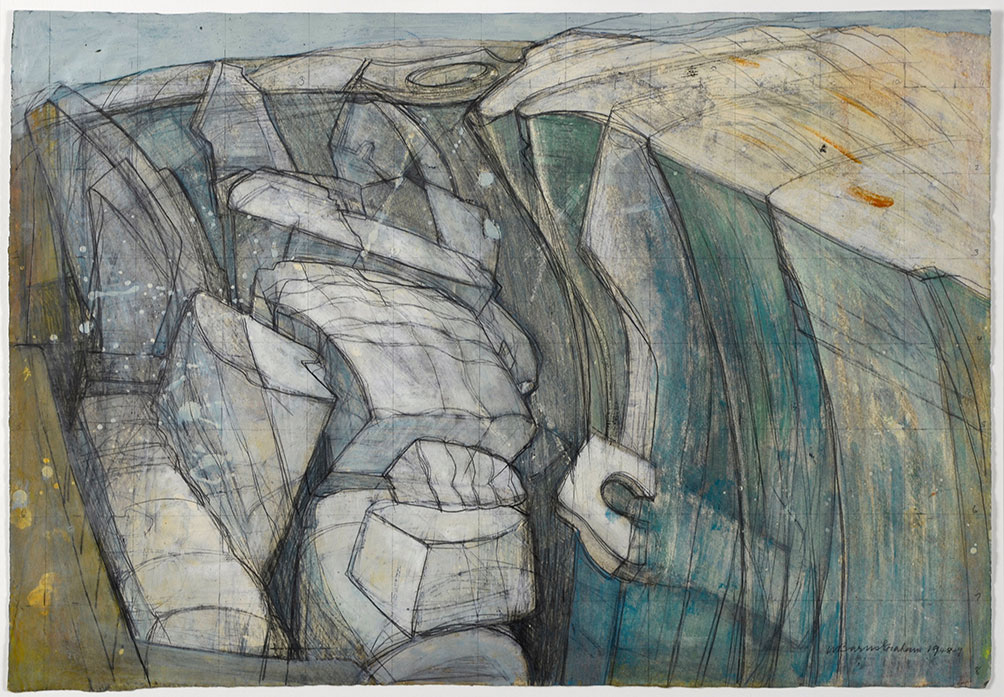 Interview: Wilhelmina Barns-Graham: Sea, Rock, Earth and Ice, at Jerwood Gallery