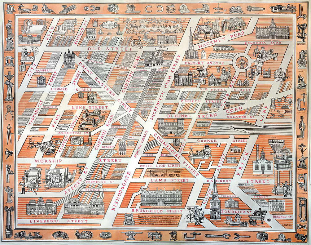 Interview: Adam Dant and the treasure of London's East End