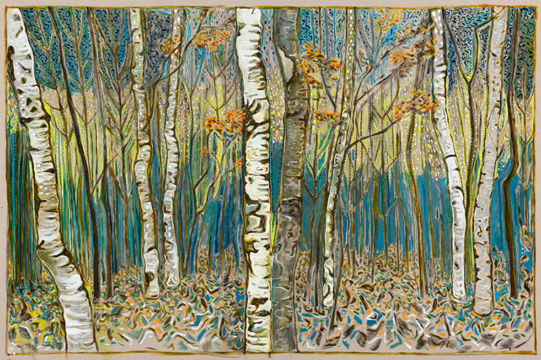 Birch Wood 2015 Billy Childish