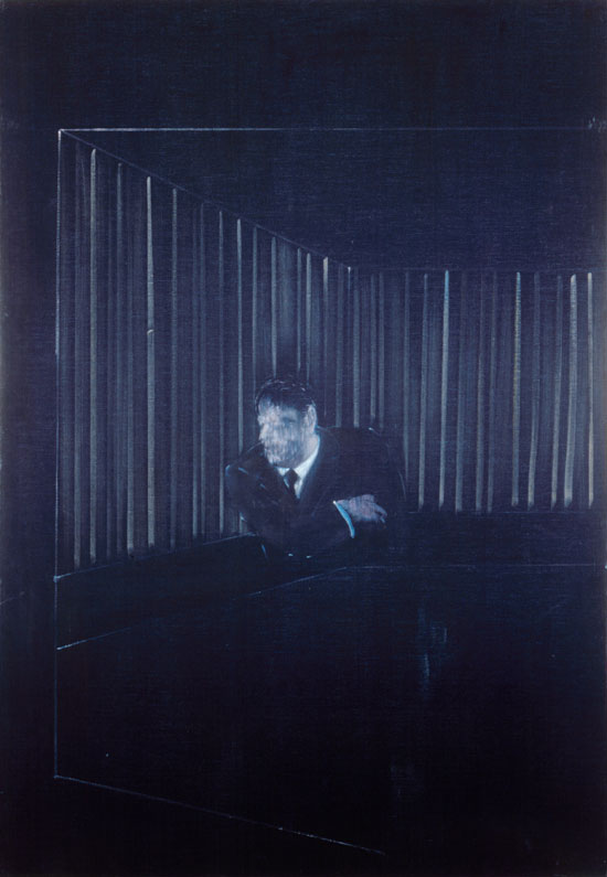 Man In Blue I, 1954 by Francis Bacon © The Estate Of Francis Bacon
