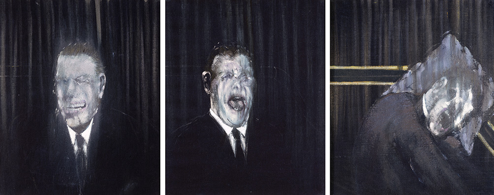 Three Studies Of The Human Head 1953 Francis Bacon The Estate Of Francis Bacon All Rights Reserved DACS 2015 Photo Prudence Cuming Associates Ltd