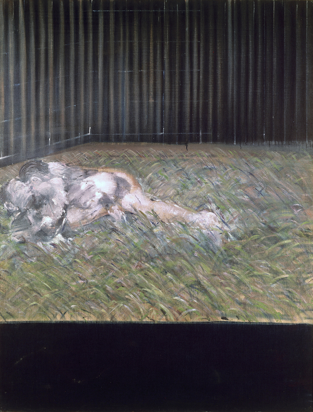 Two Figures In The Grass 1954 Francis Bacon The Estate Of Francis Bacon All Rights Reserved DACS 2015 Photo Prudence Cuming Associates Ltd