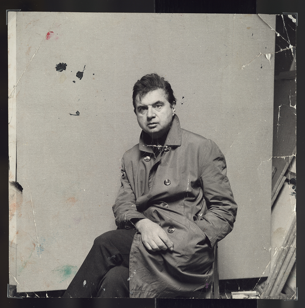 Francis Bacon In Raincoat C 1967 John Deakin The Estate Of Francis Bacon All Rights Reserved DACS Photo John Deakin