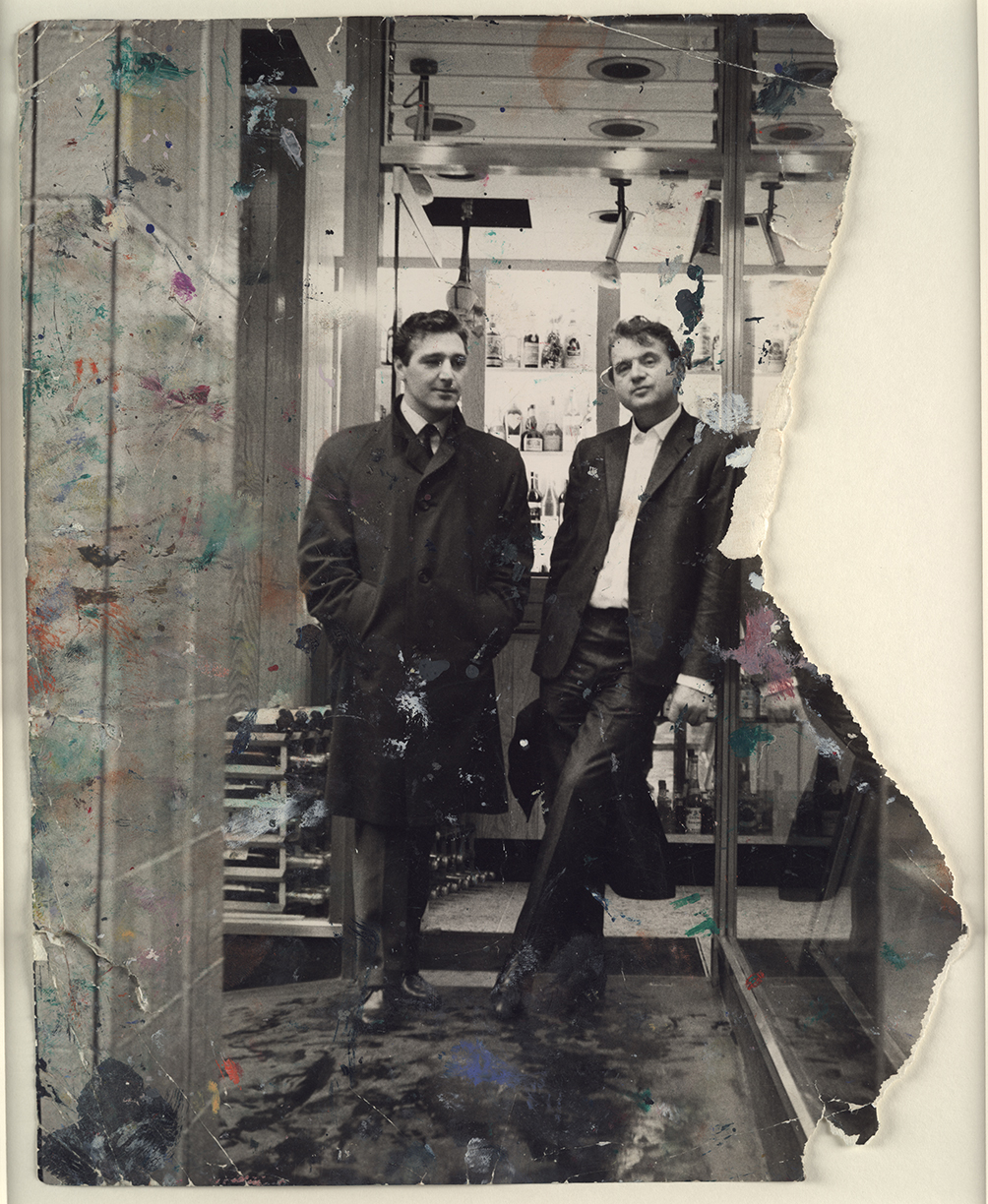 George Dyer And Francis Bacon In Soho 1966 John Deakin The Estate Of Francis Bacon All Rights Reserved DACS Photo John Deakin