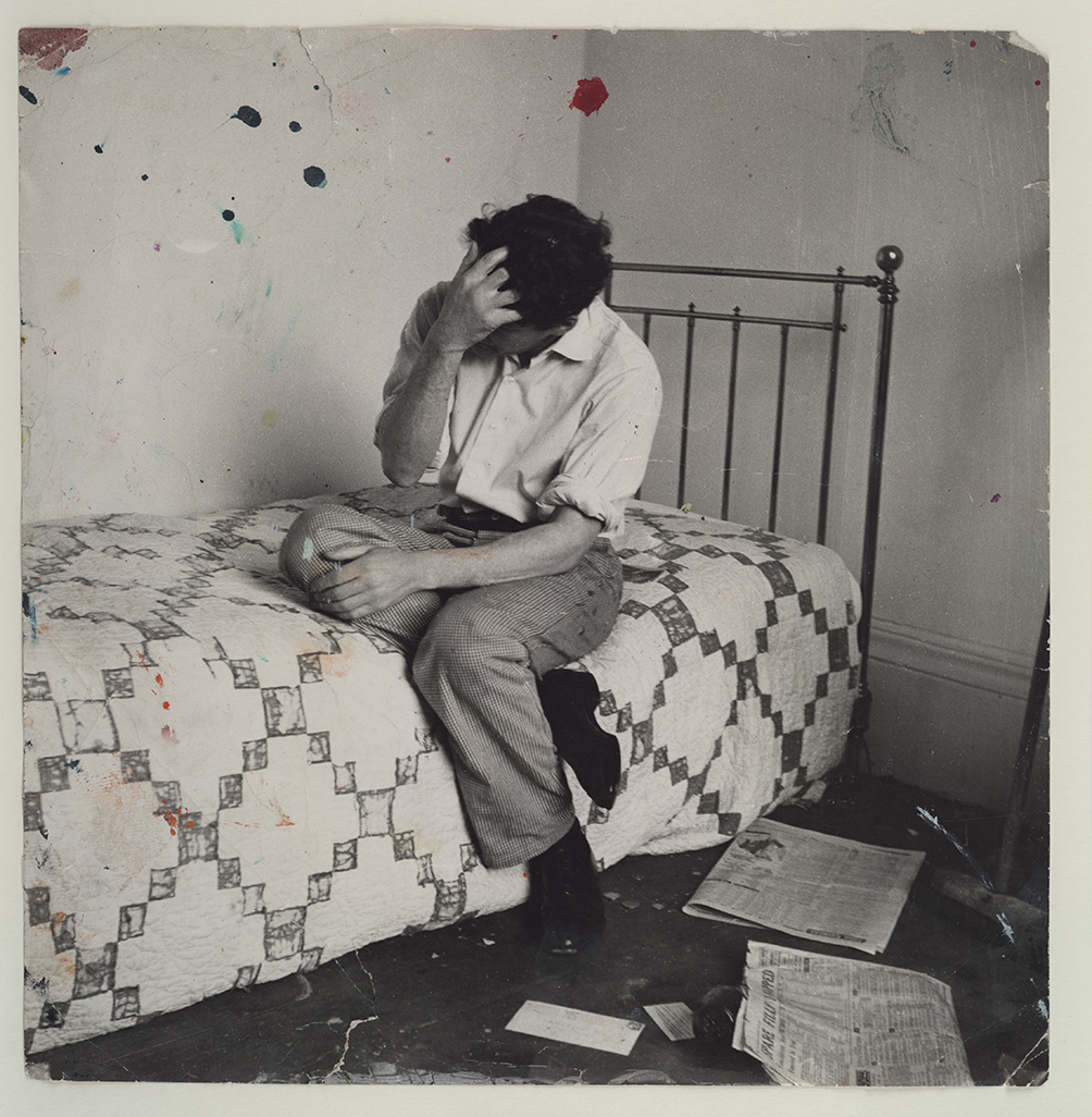Lucian Freud On Bed C 1964 John Deakin The Estate Of Francis Bacon All Rights Reserved DACS Photo John Deakin