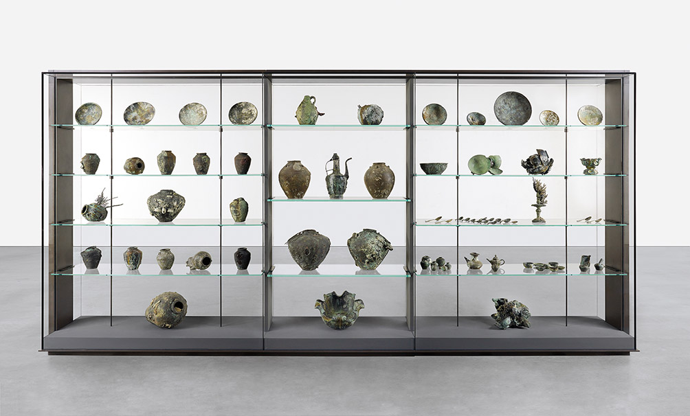 A Collection Of Vessels From The Wreck Of The Unbelievable 2017 Damien Hirst