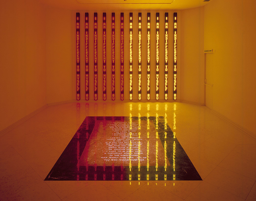 Installation View 44Th Venice Biennale United States Pavilion Venice Italy 1990 Jenny Holzer ARS NY And Dacsartimage London 2017