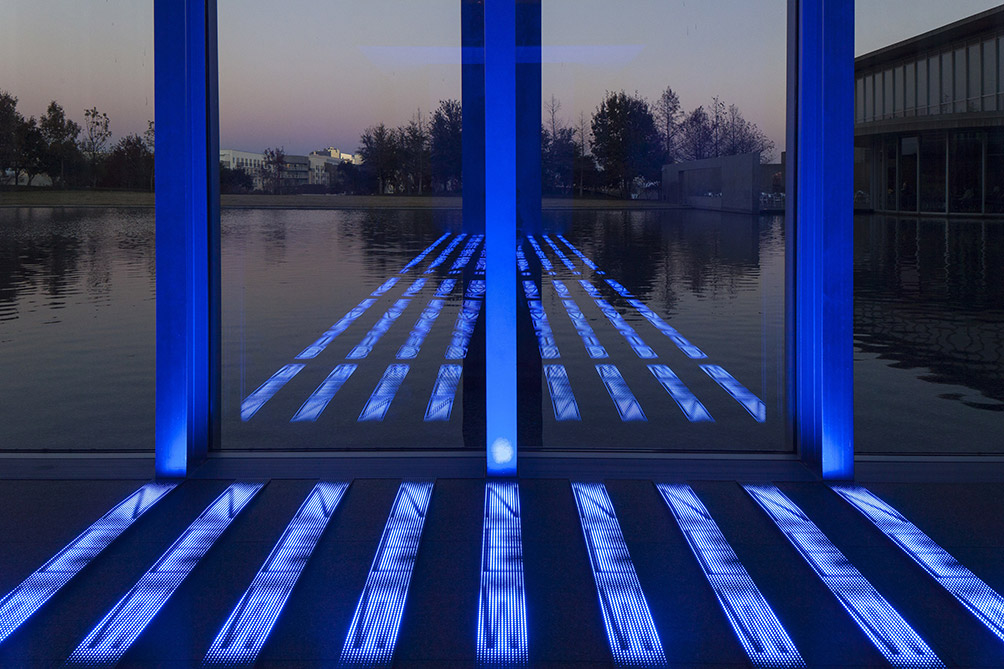 Kind Of Blue 2012 Detail Jenny Holzer ARS NY And Dacsartimage London 2017 Photo Collin Lafleche
