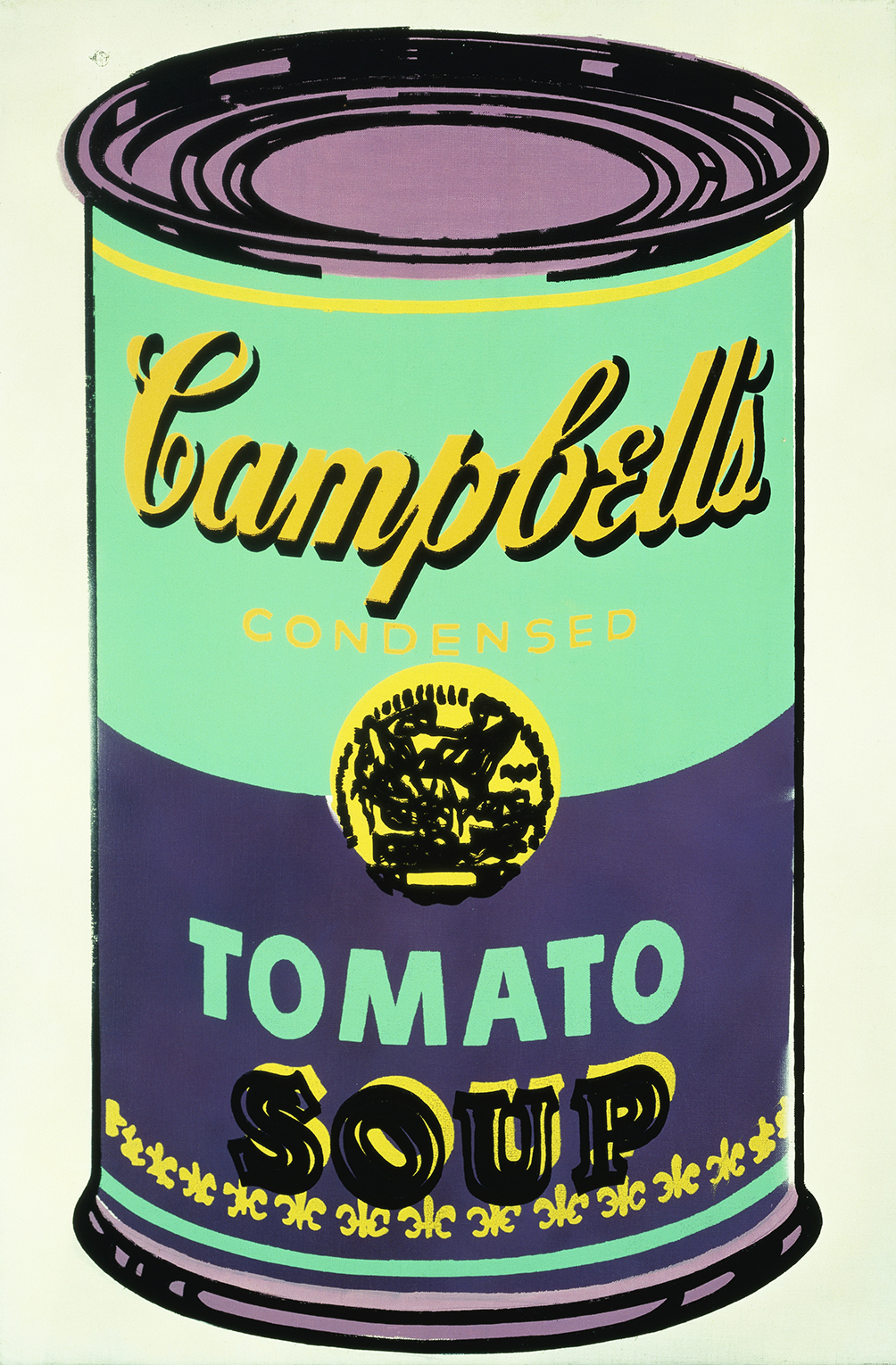 Colored Campbells Soup Can 1965 Andy Warhol The Andy Warhol Foundation For The Visual Arts Inc Dacsartimage 2018