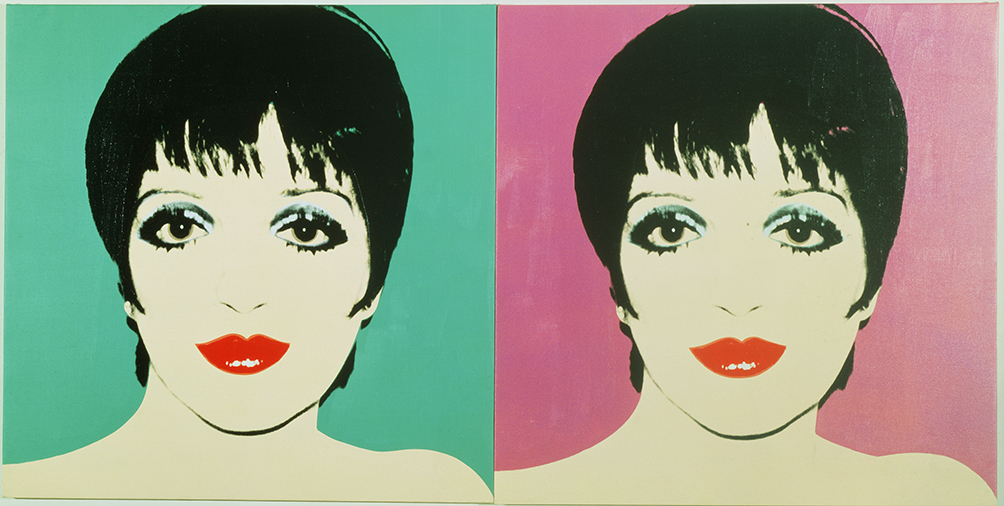 Liza Minnelli Two Panels 1978 Andy Warhol The Andy Warhol Foundation For The Visual Arts Inc Dacsartimage 2018