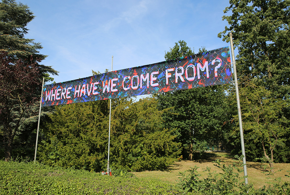 Where Have We Come From 2016 Mark Titchner