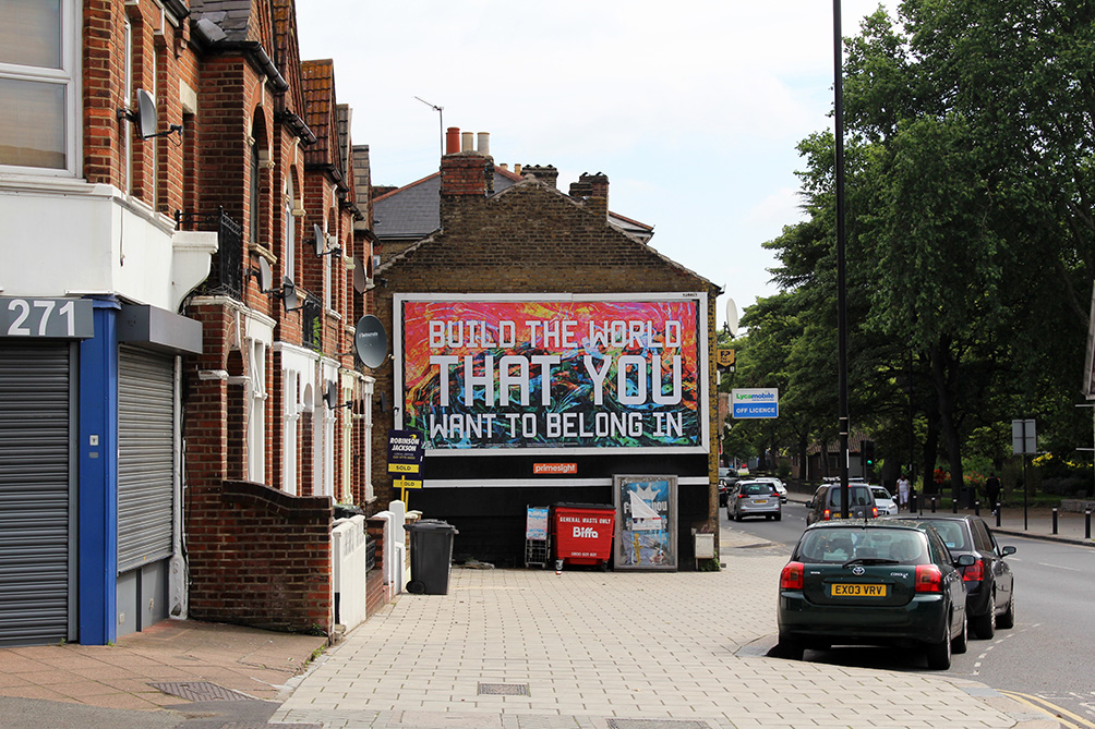 Build The World That You Want To Belong In 2016 Mark Titchner