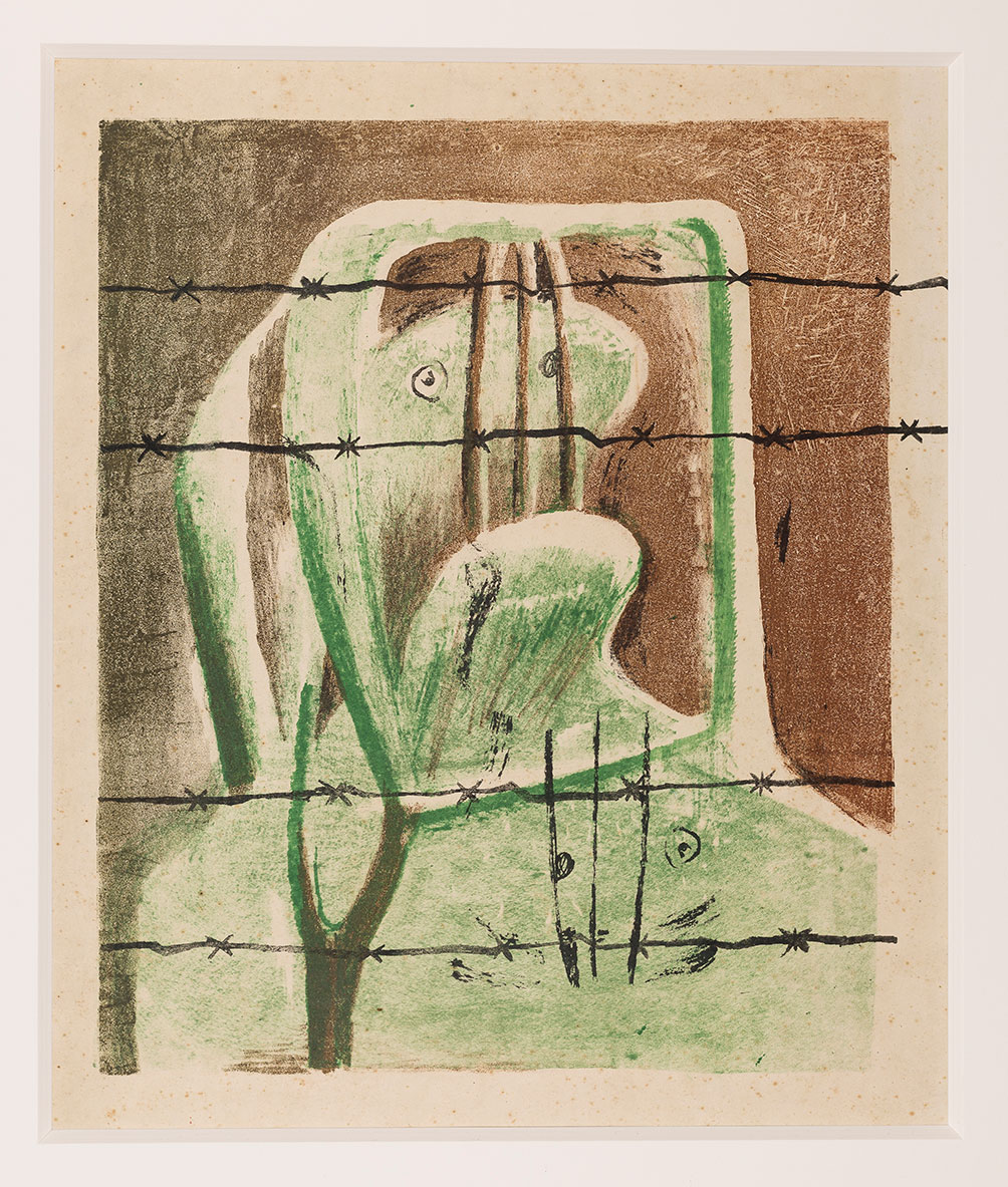 Spanish Prisoner 1939 Reproduced By Permission Of The Henry Moore Foundation The Henry Moore Foundation